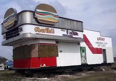 Charlie's Pizza - Redline Burgers, Alice Texas (Country Squire) Tags: abandoned lumix restaurant cafe texas alice panasonic burgers g1 artdeco redline artdecco charliespizza dmcg1