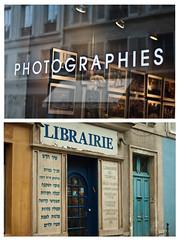 ieri&oggi (blow_a_way) Tags: paris 50mm pentax dettagli vetrina parigi riflesso