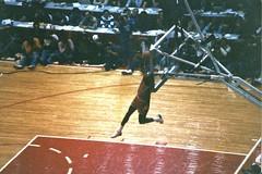 1988 Slam Dunk Contest Michael Jordan (BasicsDoneWell) Tags: jordan nba michaeljordan slamdunkcontest allstarweekend chicagostadium dominiquewilkins freethrowlinedunk gatoradeslamdunk