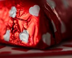 Chocolate (eyesontheskies) Tags: chocolate leftover wrapper macromondays