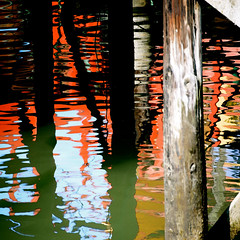Dock Side (Karen McQuilkin) Tags: california water reflections pier houseboat august sausalito dockside theawardtree karenandmc