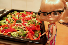 Roasted vegetables...