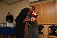 """Årsfest 2013. Mottaker av årets Rosenqvist nr 2, Julie Berglund • <a style=""""font-size:0.8em;"""" href=""""http://www.flickr.com/photos/93335972@N07/8486931768/"""" target=""""_blank"""">View on Flickr</a>"""