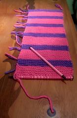 37 (Georgie_grrl) Tags: toronto ontario scarf knitting workinprogress cowl dangit thehorrors socloseyetsofar mydarkpinkside samsungd760 andoutofpinkyarn andyessometimessizematters stillfreakinshort 37inchesversus44inches