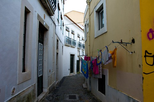 Bairro Alto narrow street ©  Still ePsiLoN