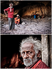 Indian Eremit (Davide Bonaldo) Tags: people india mountain sadness eyes loneliness indian eremit
