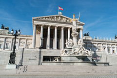 Austrian Parliament Building (811486) (Thomas Becker) Tags: vienna wien oktober building austria sterreich nikon october raw thomas district first haus parliament stadt fx parlament tamron f28 ringstrasse 2012 austrian d800 becker oesterreich hohes 2875 innere reichsratsgebude aviationphoto