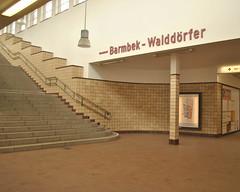 Saarlandstrasse U-Bahn, Hamburg (J@ck!) Tags: station underground typography interior empty hamburg ubahn u3 ubahnstation undergroundstation saarlandstrasse
