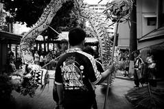 wyrm (buckyishungry) Tags: show road street trees blackandwhite monster dark fire flying dance singapore fuji dragon estate fierce performance chinesenewyear lizard celebration cny beast fujifilm zodiac february performers powerful fujinon tarragon fearsome x100 wyrm 2013 dragonyear humansofsingapore