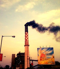 Chimney (Vrajeshjani) Tags: chimney gujarat ahmedabad aec sabarmati torrentpower