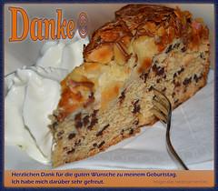 Danke (niedersachsenfoto) Tags: caf bremen kuchen geburtstagskuchen ostertor niedersachsenfoto