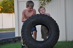 58-365 (wrightx44) Tags: power tire workout day58 struggle determination crossfit crossfitkids day58365 3652013 2013inphotos 365the2013edition 2013365 27feb13