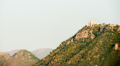 Hill Fort (lighthunter09) Tags: india fort hill rajasthan udaipur