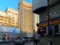 University Square, Bucharest (Carpathianland) Tags: street people architecture strada view scene romania pedestrians bucuresti oameni arhitectura stretscape stradal trecatori