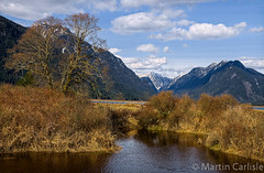 Pitt River Area, British Columbia, Canada (martincarlisle) Tags: sky canada mountains water clouds britishcolumbia pittlake fraservalley pittmeadows tamronlenses pittriverarea pentaxk5 pittpolderecologicalreserve