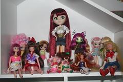 Doll Collection as of January 2013 (♡momori♡) Tags: moon anime fashion angel stars toy tokyo doll dolls mami queen collection bjd pullip sailor jupiter custom dic irwin tomoe beryl bandai mew novi evangeline fujiwara zakuro chibiusa chibimoon