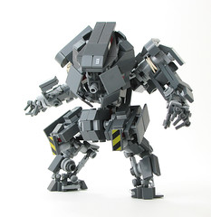 Weaver2 (mondayn00dle) Tags: dawn lego military armor future forge mecha mech hardsuit