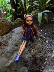 In the Jungle (Suteki_Neko) Tags: zoo doll jungle tropichall monsterhigh clawdeenwolf