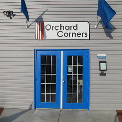 New signs will be here soon!! (Orchard Corners) Tags: bus campus lawrence student university apartments close ks orchard route ku kansas housing rent jayhawk corners