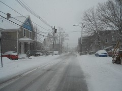 Nor Much Like Spring Yet (Mr. Ducke) Tags: snow ma attleboro