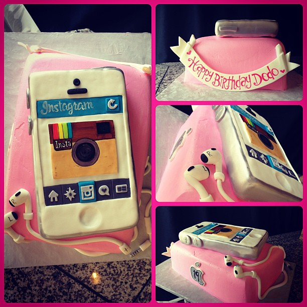 Cake Art Instagram : The World s Best Photos of camera and fondant - Flickr ...