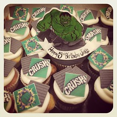 Hulk #hulk #thehulk #superhero #avengers #cupcake #yesyoucaneatit #yummy #edible #fondant #bricks #smash #crunch #royaltycakes #ilovemyjob (Royalty_Cakes) Tags: birthday boy building green art cakes cake square happy cupcakes smash cu artist hand 5 painted awesome bricks creative sugar celebration cupcake superhero punch hulk custom crush edible 5th royalty avengers grrrrr fifth chino fondant buttercream greenthumb monograms brickhome customcakes specialtycakes iphoneography wwwroyaltycakes wwwroyaltycakescom royaltycakes