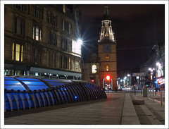 Trongate Glasgow (Ben.Allison36) Tags: street uk night photography scotland high cross shot nightshot glasgow steeple highstreet londonroad saltmarket tolbooth glasgowcross trongate gallowgate olympuse600