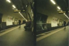 Northern Line. (Bea Starr Dewhurst) Tags: original colour london love home 35mm fuji tube solo 400 londonunderground halfframe olympuspen northernline tfl
