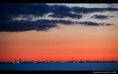 amsterdam gezien vanaf oostvaardersdijk bij almere 2 (raymondklaassen) Tags: amsterdam skyline flevoland oostvaardersdijk