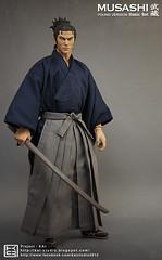 B002 (KAI STUDIO) Tags: kai samurai miyamoto musashi miyamotomusashi 宮本武藏 日本武士 kaistudio