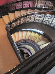 Staircase of St Pancras Hotel (janet7r) Tags: london hotel blog tour group renaissance stpancrashotel