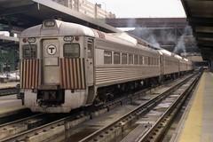 MBTA RDC Set (Andy961) Tags: railroad boston train ma massachusetts railway budd commuter passenger mbta rdc 9154