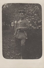 November 1916 (hoosiermarine) Tags: november wwi worldwari worldwarone ww1 worldwar1 1916 weltkrieg germansoldier schirmmütze troddel