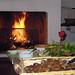 ...il calore del focolare domestico, in inverno....