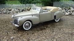 1941 Lincoln Continental Cabriolet (JCarnutz) Tags: continental lincoln 1941 cabriolet diecast franklinmint 124scale