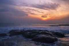 Firstlight (Arun Veerappan) Tags: india clouds sunrise canon rocks colours ngc chennai nationalgeographic firstlight cwc natgeo 2016 nammachennai chennaiweekendclickers 121clicks emphoka mychennai uclickframe nationalgeotraveller cwc540