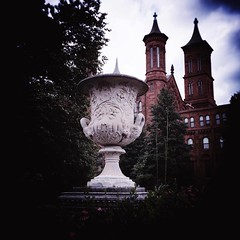 one urn contemplates... (conceptvessel) Tags: oneurncontemplates castle smithsonian journey washingtondc summer bookbinding bookarts workshop adventure travelers friends joy love