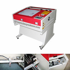 HY4040 Mini Laser Engraver/Cutter. Welcome inquire ! (haoyuelaser) Tags: china wood acrylic plastic guiderail lasercutter cncrouter laserengraver cortelaser diylaser laserengravingmachine minilaser 4040lasermachine smalllaser