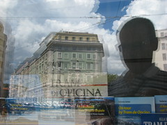 Window Reflection (scpdnc) Tags: reflection window tram io finestra vetrina riflessi trieste selfie riflesso opicina oberdan