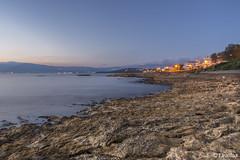 @ Nea Artaki (t.valilas) Tags: sunset sea sky beach landscape lights coast seaside rocks outdoor greece bluehour artaki evia euboia euboea neaartaki newartaki