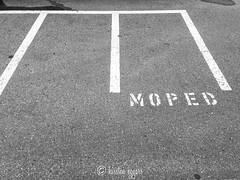 IMG_3908-KirstenEggers (Kiki m. E.) Tags: moped motorrad parkplatz parking markierung sign mark weiser sterreich bregenz asphalt tarmac