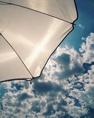 Bajo la sombrilla - Under the umbrella #sombrilla #umbrella #sea #mar #beach #blue #instabeach #seaside #beachtime #sky #clouds #nubes (IMARCHI) Tags: bajo la sombrilla under umbrella sea mar beach blue instabeach seaside beachtime sky clouds nubes imarchi imarchicom photographer fotografo madrid spain photography photo foto iphone phoneography iphoneography mobile eyeem instagram