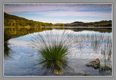 Loch Achray 1 (Pat's Images) Tags: reflections sunny lochachray trossachs earlyautumn