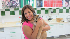 Up-Close-and-Personal-with-the-Animals-in-the-Clinic-in-Castelllar-Zoo---Caracal (marbellaescapes) Tags: marbella rescue center zoo castellar tiger tour travel malaga costa de sol c caracal lemur vuture