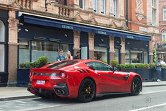 Look, a TDF (Beyond Speed) Tags: ferrari f12 f12tdf tdf supercar supercars automotive automobili nikon v12 london mayfair red