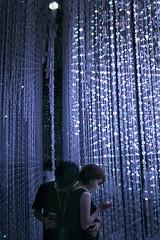 Universe (Yuliya Libkina) Tags: japan odaiba travel shine exhibition planets dmm dmmplanets art asia technology crystal universe accumulated light installation teamlab love romantic romance tokyo night dark