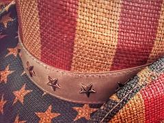 Stars-HMM! (amarilloladi) Tags: patriotic flag hat cowboyhats stars macromondays