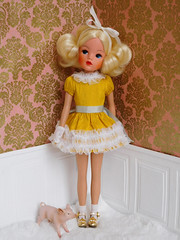Sindy Funtime 1974 (Cossette...) Tags: sindy doll pedigree funtime1974 skipperbody custom cossette dress outfit piggy pig toy vintage