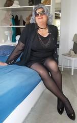 2016 - 08 - 21 - Karoll  -  003 (Karoll le bihan) Tags: femme feminization feminine travestis tgirl travestie travesti transgender effeminate transvestite crossdressing crossdresser travestisme travestissement fminisation crossdress lingerie escarpins bas stocking pantyhose stilettos