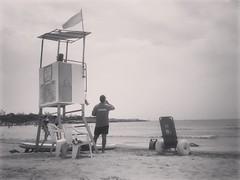 Baywatch (zenomis82) Tags: baywatch beach sea mare summer igerssicilia igersragusa estate bn bw